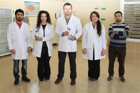 Bozok Üniversitesi, içilebilir tablet camsil üretti