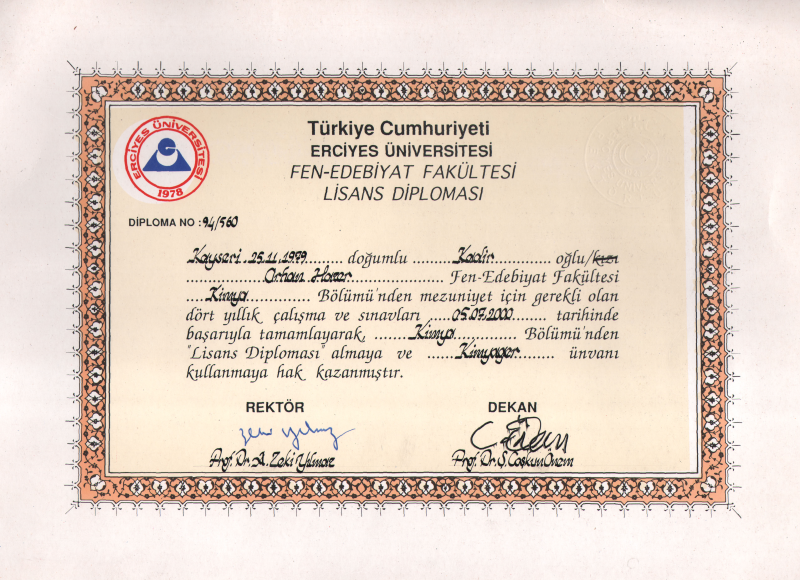 Lisans Diploması